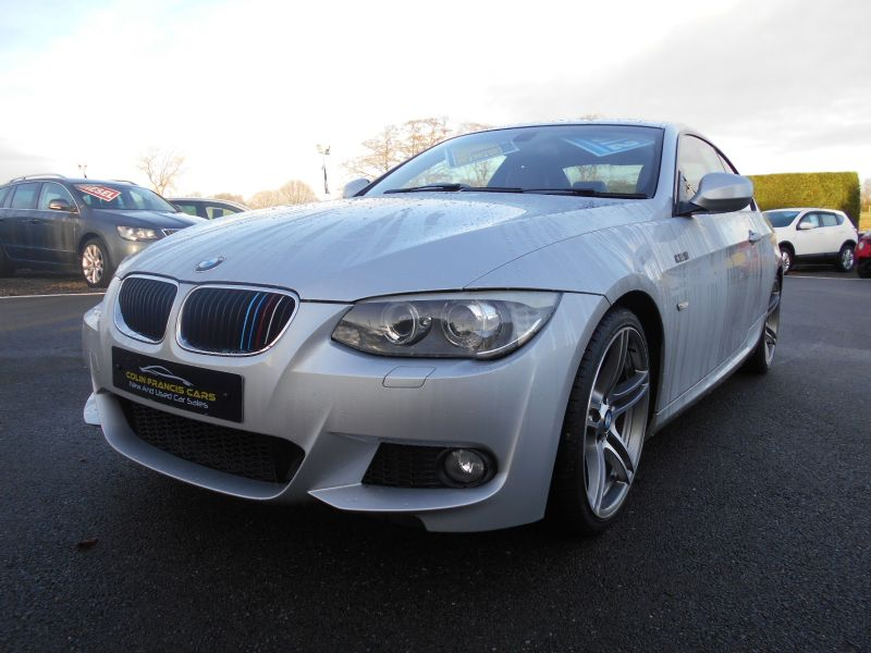 BMW 3 SERIES 2.0i M SPORT COUPE *DAKOTA RED LEATHER SEATS* 19