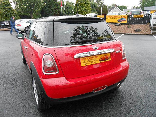 sold mini cooper 1 6d colin francis cars used cars. Black Bedroom Furniture Sets. Home Design Ideas